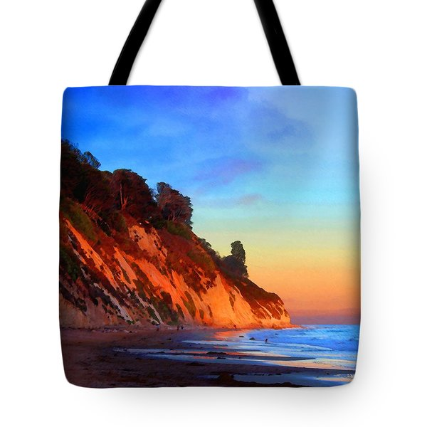 Evening At Arroyo Burro Tote Bag