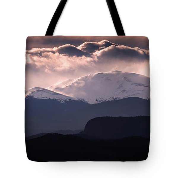 Evening At Evans Tote Bag