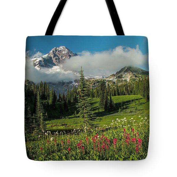 Evening At Indian Henry's Tote Bag