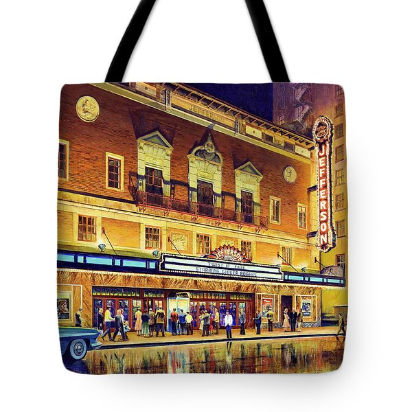 Evening At The Jefferson Tote Bag