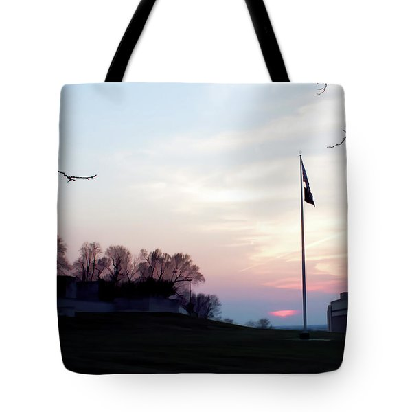 Evening At The Memorial Tote Bag
