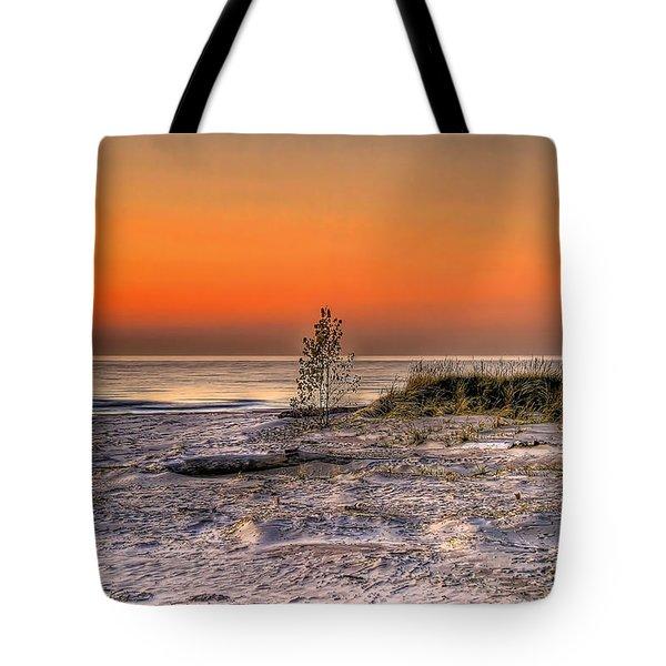 Evening Beach Glow  Tote Bag