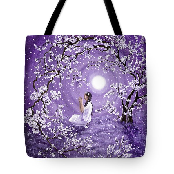 Evening Blessing Tote Bag