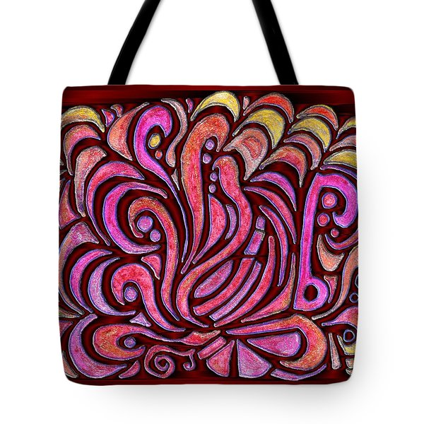 Evening Bonfire Tote Bag by Mark Sellers
