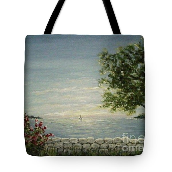 Evening Breeze Tote Bag