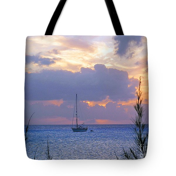 Evening Calls Tote Bag