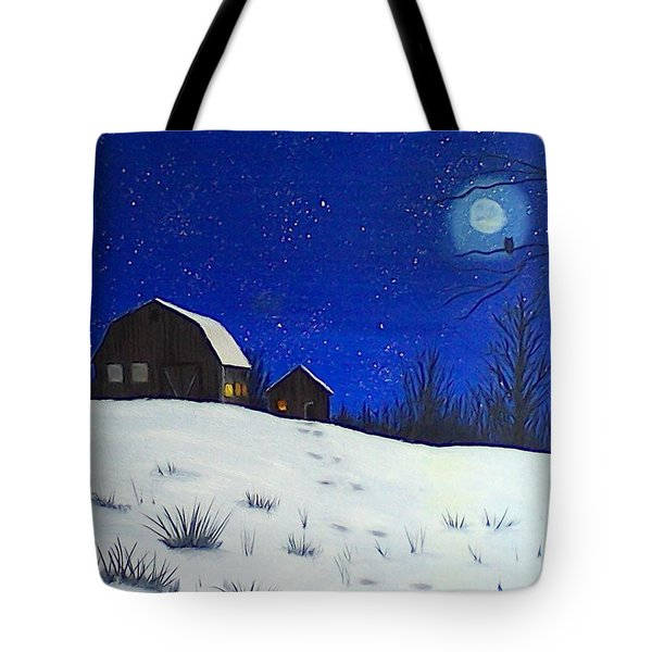 Evening Chores Tote Bag