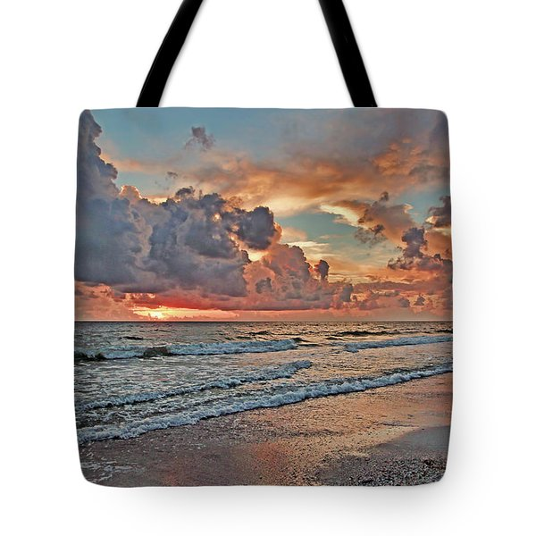 Evening Clouds Tote Bag by HH Photography of Florida