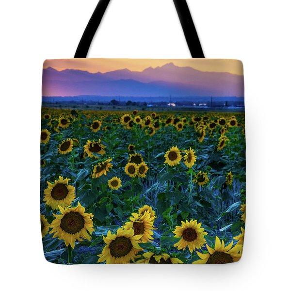Evening Colors Of Summer Tote Bag
