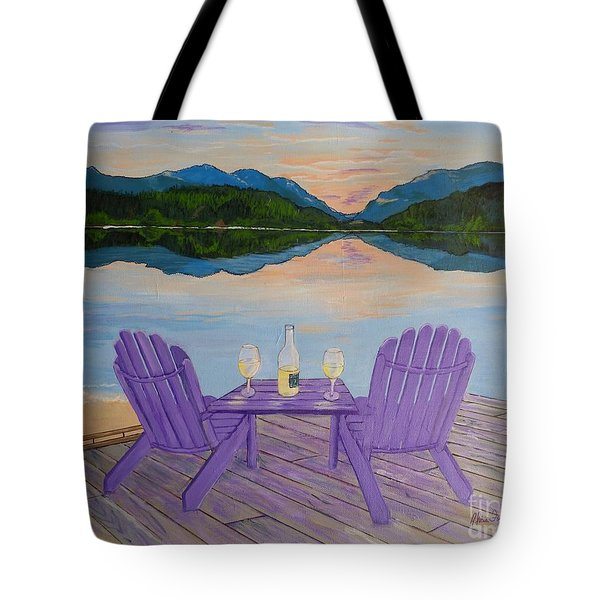 Evening Delight Tote Bag