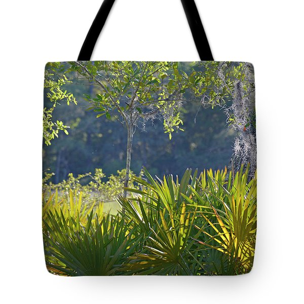 Tote Bag featuring the photograph Evening Foliage by Bruce Gourley
