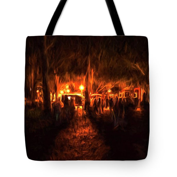 Evening Gathering Tote Bag