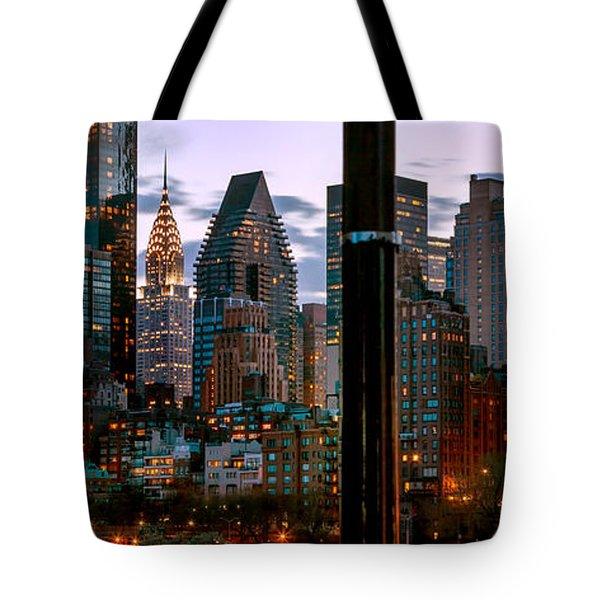 Evening Glow Tote Bag by Az Jackson