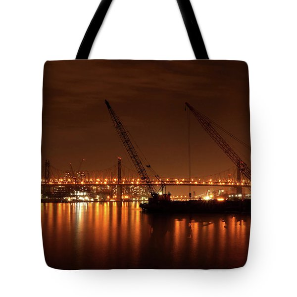 Evening Illumination Tote Bag