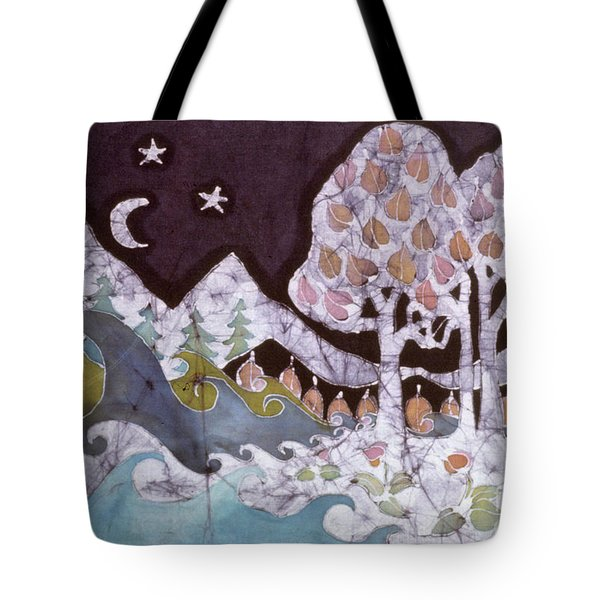 Evening In A Gentle Place Tote Bag