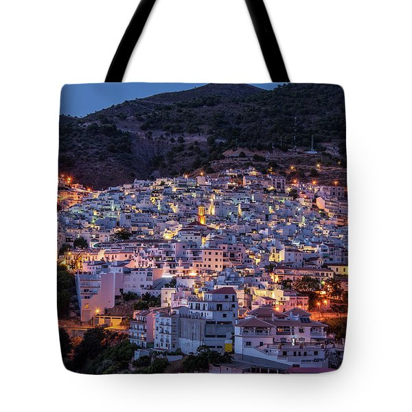 Evening In Competa Tote Bag