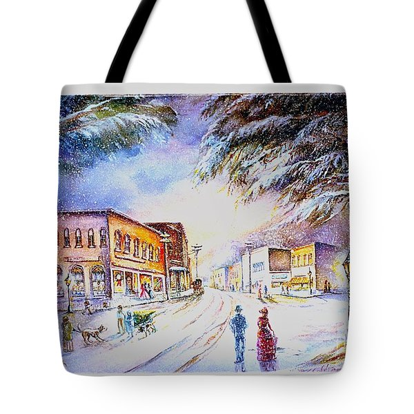Evening In Dunnville Tote Bag