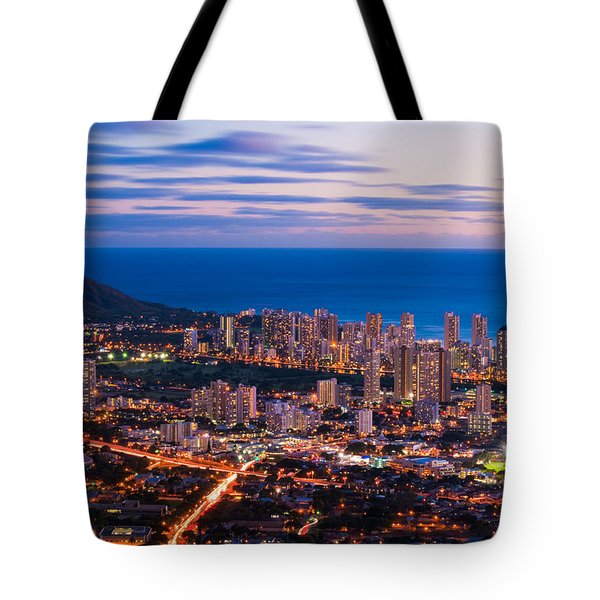 Evening In Honolulu Tote Bag