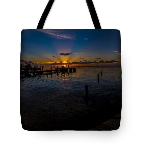 evening in Key Largo Tote Bag