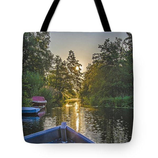 Evening In Loosdrecht Tote Bag