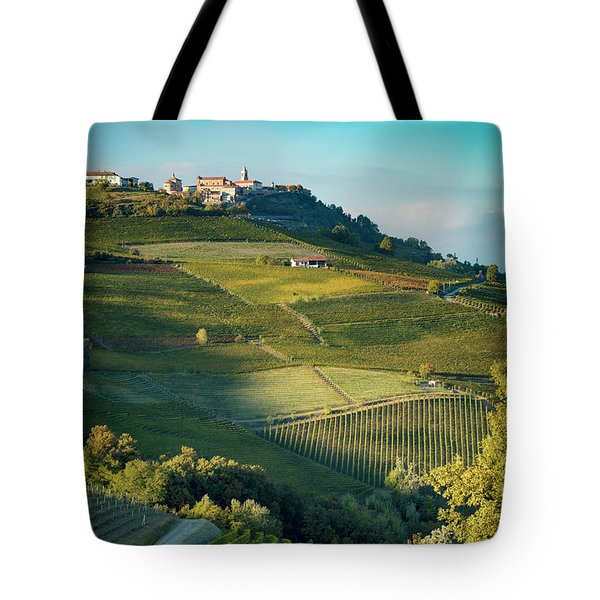 Tote Bag featuring the photograph Evening In Piemonte by Brian Jannsen