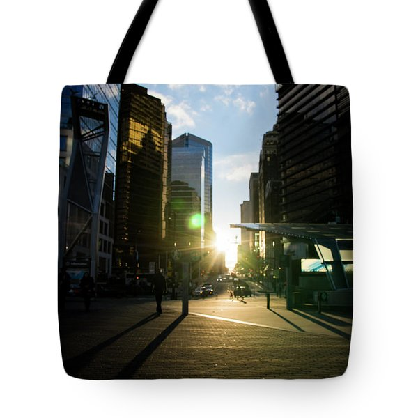 Evening In The City Tote Bag