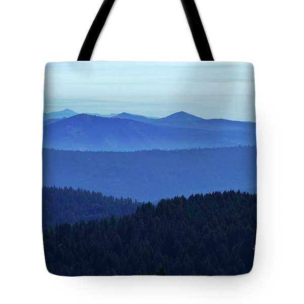 Oregon Blues  Tote Bag