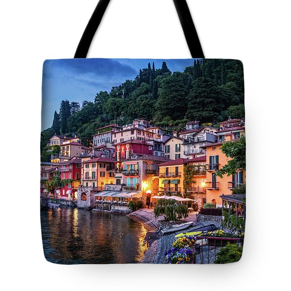 Evening In Varenna Tote Bag