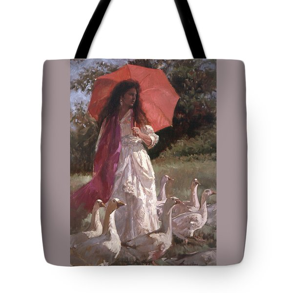 Evening Interlude Tote Bag