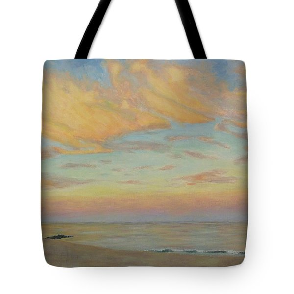 Tote Bag featuring the painting Evening by Joe Bergholm
