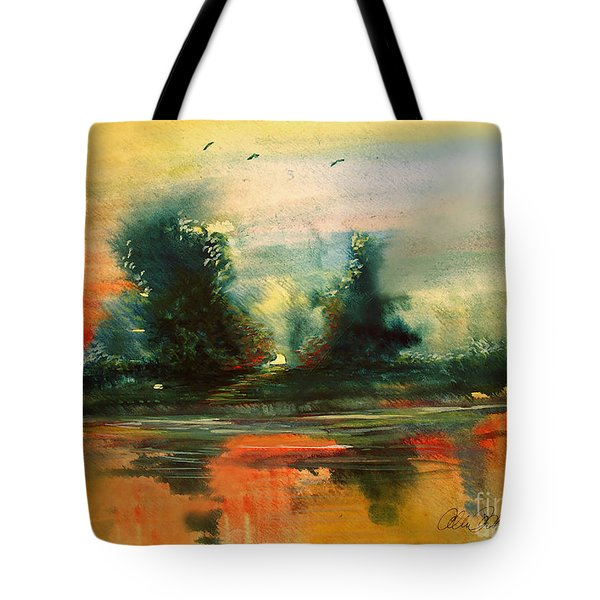 Evening Light Tote Bag by Allison Ashton
