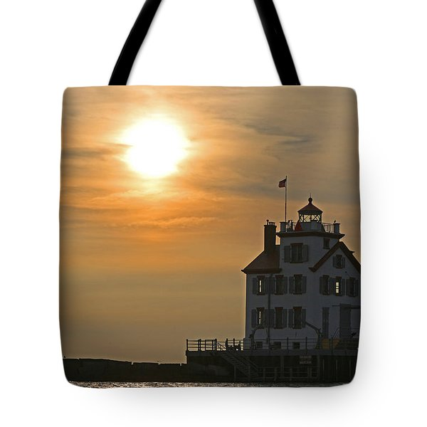 Evening Lighthouse 1 Tote Bag