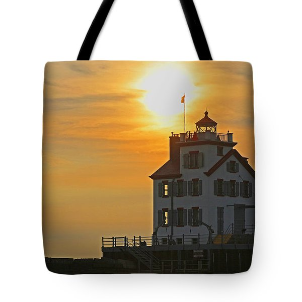 Evening Lighthouse 2 Tote Bag