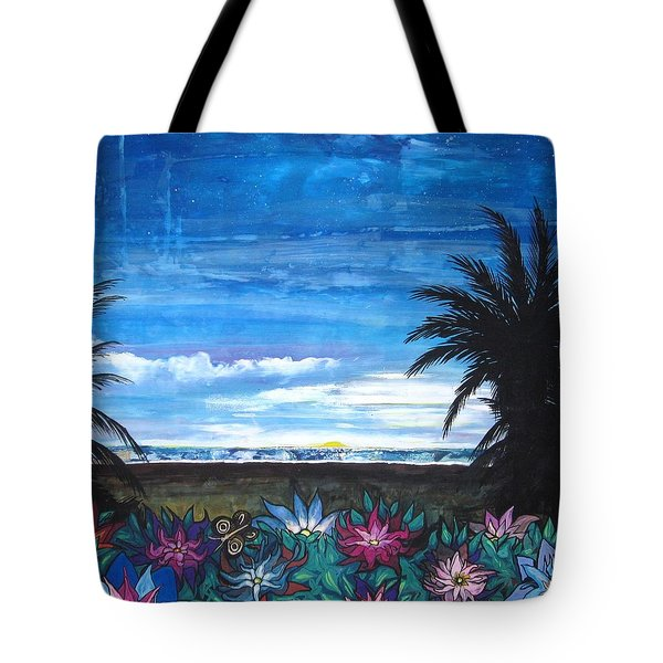 Tropical Evening Tote Bag