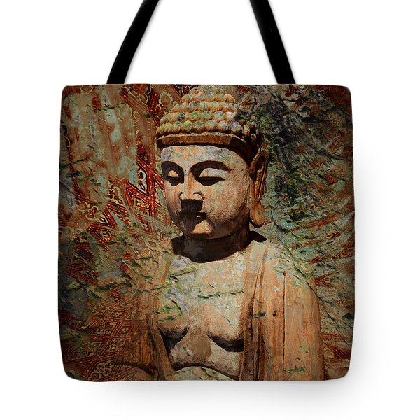 Tote Bag featuring the painting Evening Meditation by Christopher Beikmann