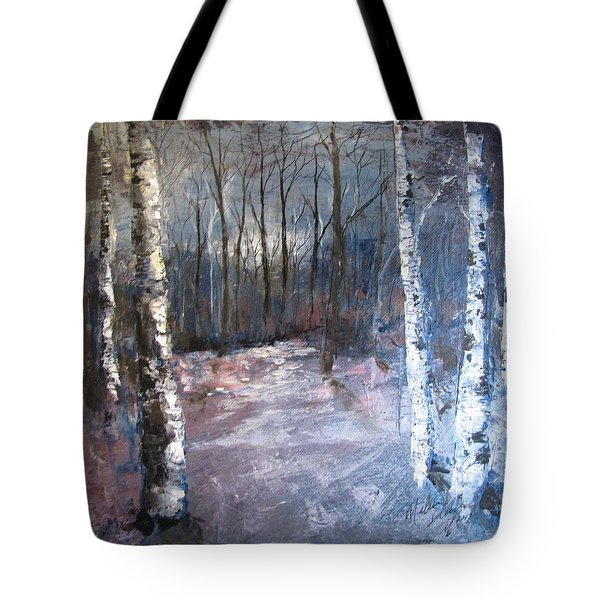 Evening Medow Tote Bag