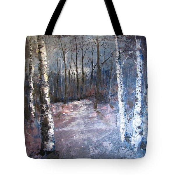 Evening Medow Tote Bag