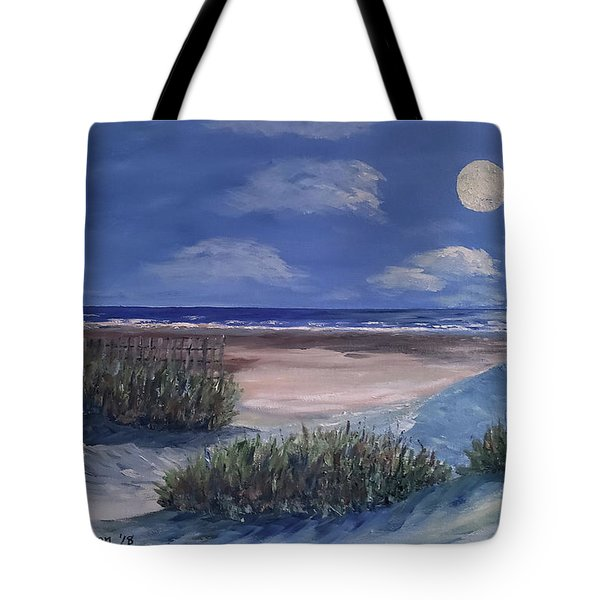 Evening Moon Tote Bag