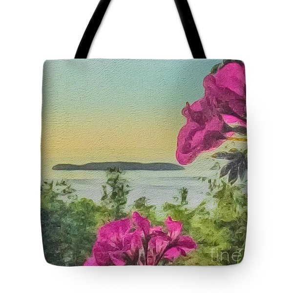 Islands Of The Salish Sea Tote Bag