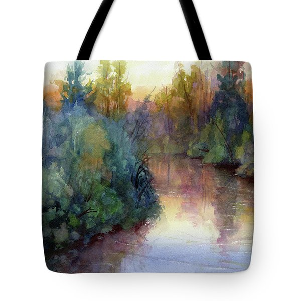 Evening On The Willamette Tote Bag