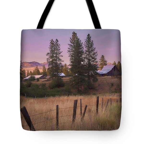 End Of The Day Tote Bag by Loni Collins