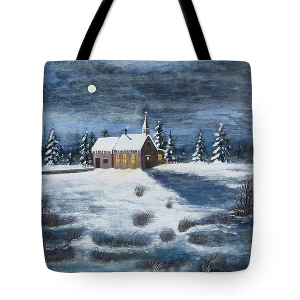 Evening Prayers Tote Bag