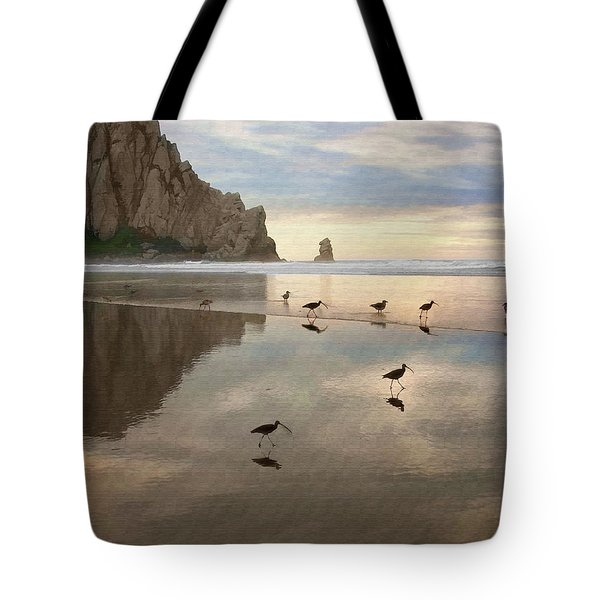 Evening Reflection Tote Bag by Sharon Foster