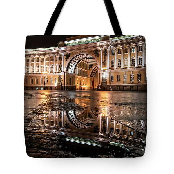 Tote Bag featuring the photograph Evening Reflections by Jaroslaw Blaminsky
