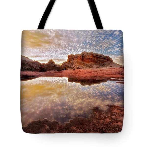 Evening Reflections  Tote Bag by Nicki Frates