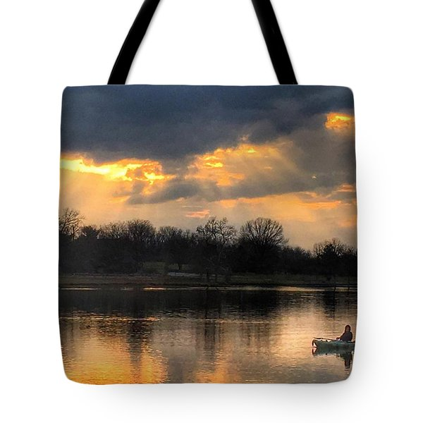 Evening Relaxation Tote Bag