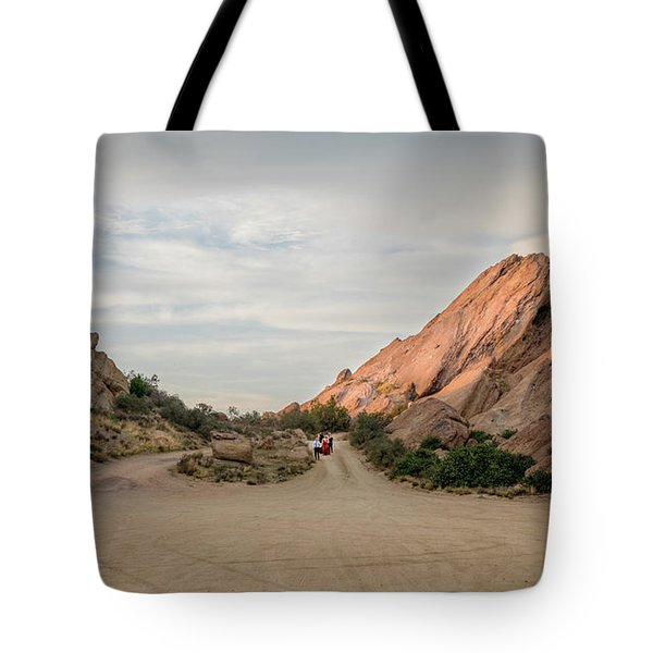 Tote Bag featuring the photograph Evening Rocks By Mike-hope by Michael Hope