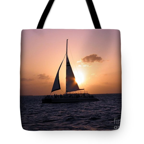 Evening Sail Tote Bag