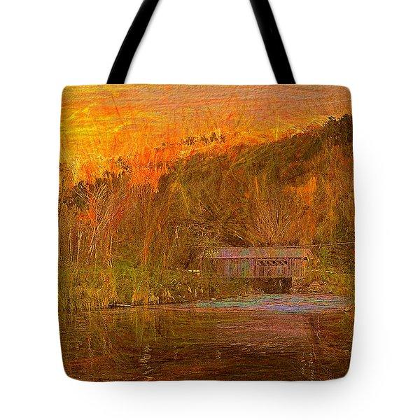 Evening Shadows II Tote Bag