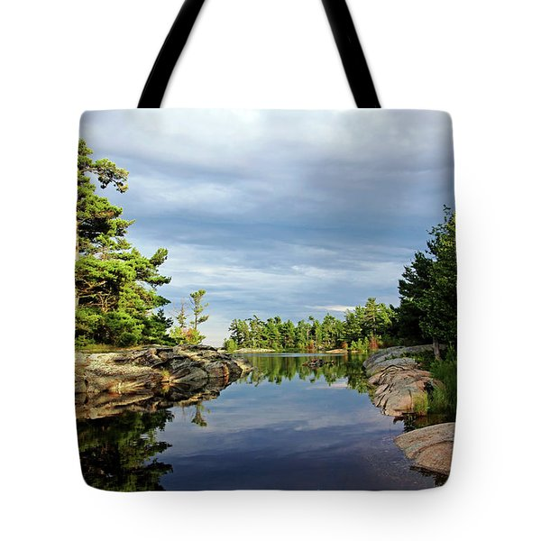 Evening Silence Franklin Island Tote Bag
